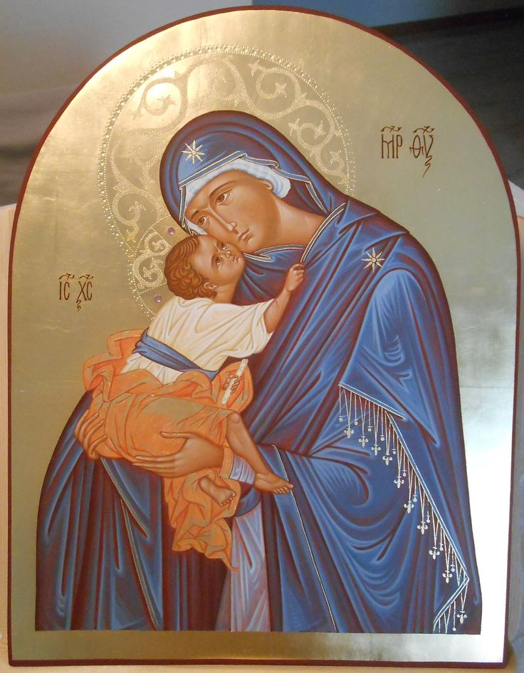 part. Eleousa di San Salvatore in Chora through the hand of Maria Teresa Battilana