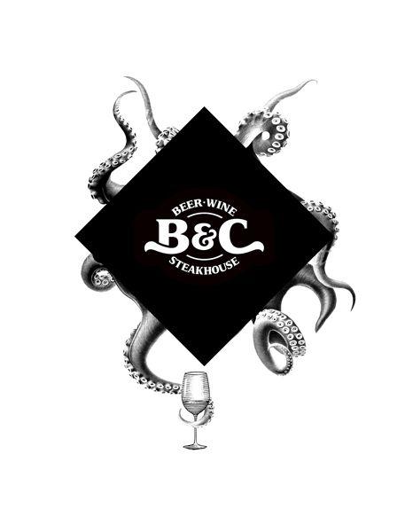 B & C by yy / logo / / repinned on toby designs