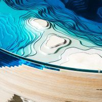 DuffyLondonrecently expanded its collection of ocean geological cross-section inspired tables, with the 'abyss horizon' table. Taking a year to develop through experimentation with sculpted glass, plexiglass and wood, the table…