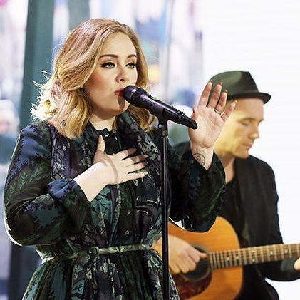 """Adele's """"25"""" album reaches a new plateau by selling 7 million copies in the United States by the third week."""