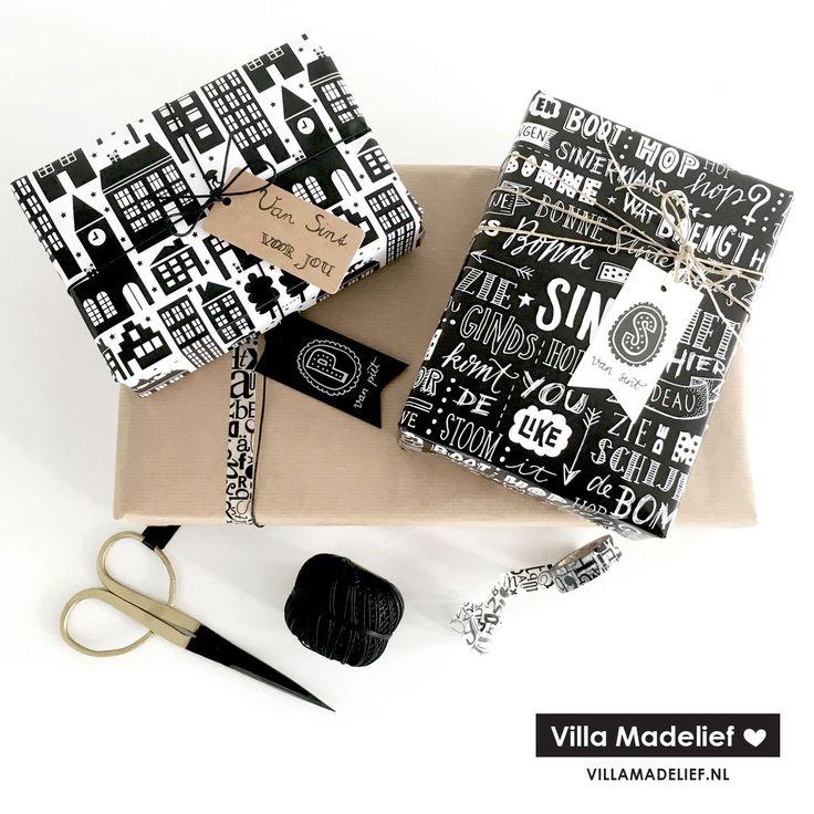 Verbluf iedereen op pakjesavond met stijlvolle Sinterklaascadeaus voorzien van hip Sinterklaas inpakpapier. Handige en inspirerende inpaktips!