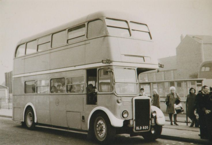 Former London RTL 1591 (OLD 820) with Harpers Buses of Heath Hayes, Staffordshire