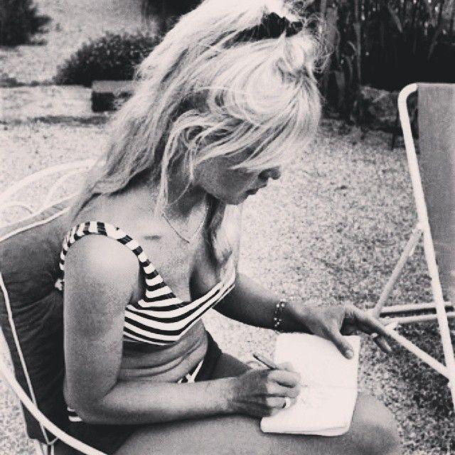 Brigitte Bardot at La Madrague during the 60's. #brigittebardot #brigitte #bardot #bb #sttropez ...