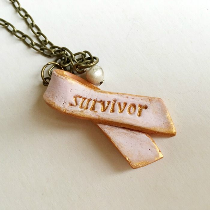 Pink Ribbon Survivor Necklace