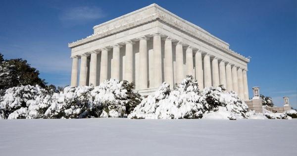 Washington, D.C.: Holiday, Washington D C, Winter White, Snow, Lincoln Memorial, Washington Dc, United States
