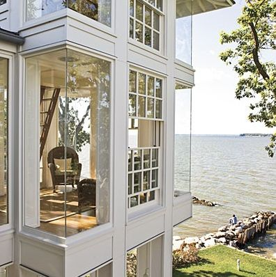 i love windows but i cant stand when they are not accompanied by curtains (House 2)
