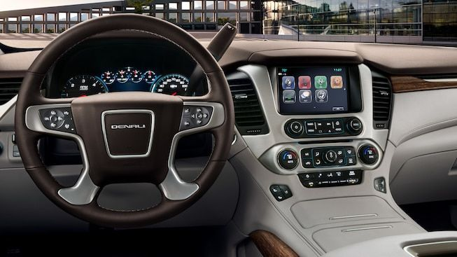 Interior Gallery Image Featuring The 2019 Gmc Yukon Denali Full