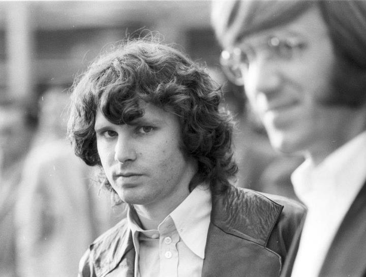 Jim Morrison, Ray Manzarek.