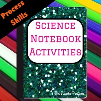 Science Process Skills Interactive Science Notebook: Pack 8 from All in One Science Notebook Bundle This resource is designed to accompany hands-on investigations to help students improve their