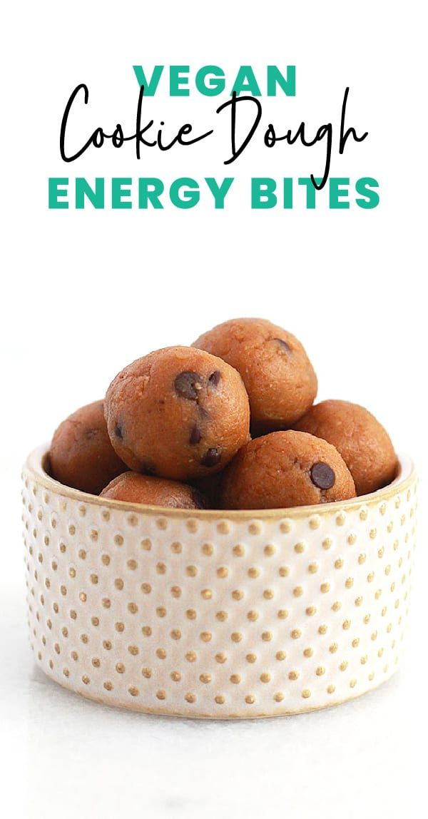 If you love to lick the cookie dough bowl? These vegan cookie dough energy bites are everything you love about chocolate…