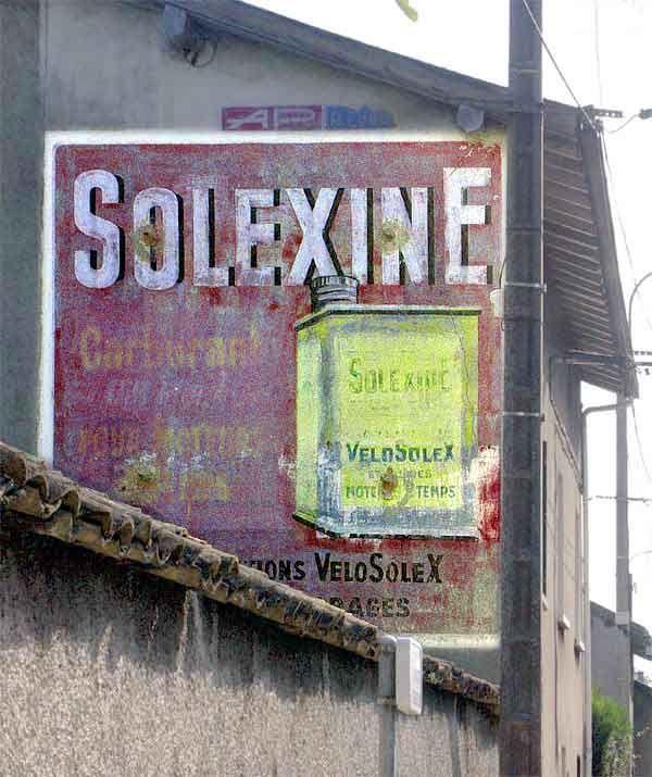 Solexine rilleux la pape publicit s murales peintes for Garage peugeot paris nice belleville