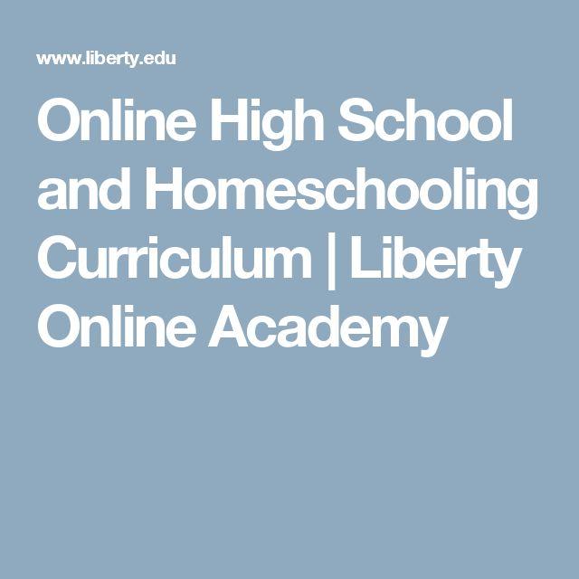Online High School and Homeschooling Curriculum | Liberty Online Academy