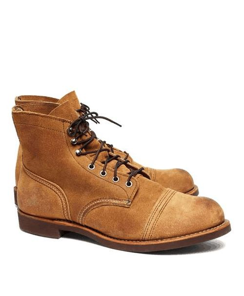 Brooks Brothers | Red Wing 8113 Hawthorne Muleskinner #BrooksBrothers #RedWing #boots