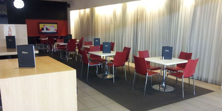 1862 Bar– Adelaide Airport | Concept Collections | Sandra Chair in Red