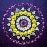 New Flower Mandalas by Kathy Klein