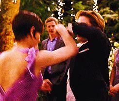 Alice and Jasper dancing at Bella & Edward's wedding --- #Twilight #gif