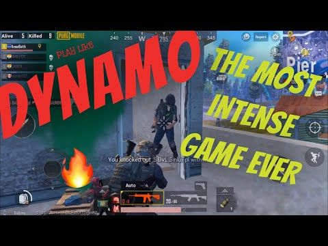 Pubg DYNAMO GAMING and SHROUD LIKE KILLS INTENSE BATTLE - YouTube