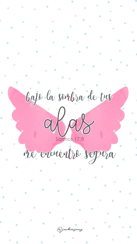 Salmos 17:8 bajo la sombra de tus alas me encuentro segura