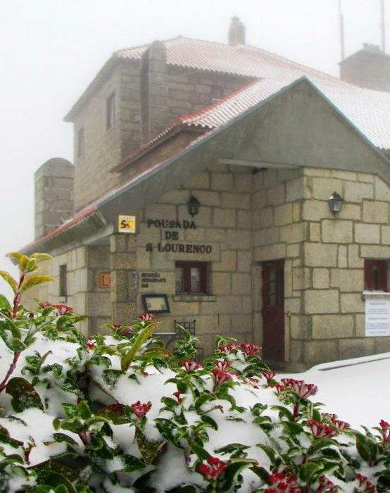Serra da Estrela covered in snow. #Pousada de Manteigas http://www.pousadas.pt