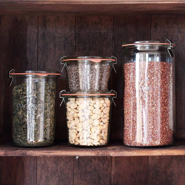 A wide variety of German made canning jars and juice jars from Weck as well as additional accessories.