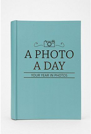 Think I'm going to do this for 2012. A lovely idea and pushes me to print my pictures I take.