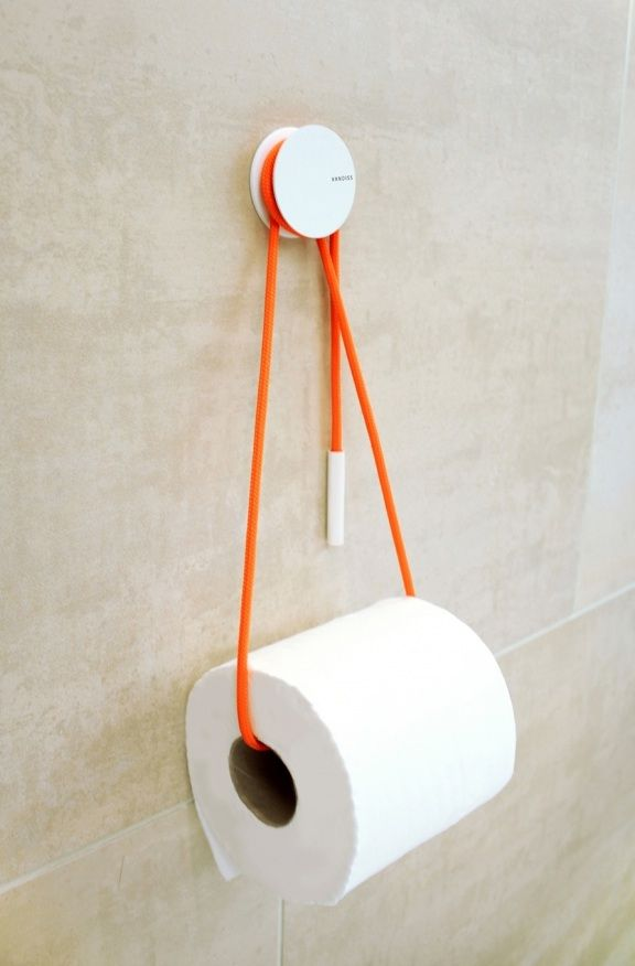 Diabolo Toilet Roll Holder: Remodelista