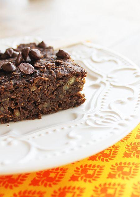 Brownie Fit de Batata-doce | Blog Figos & Funghis