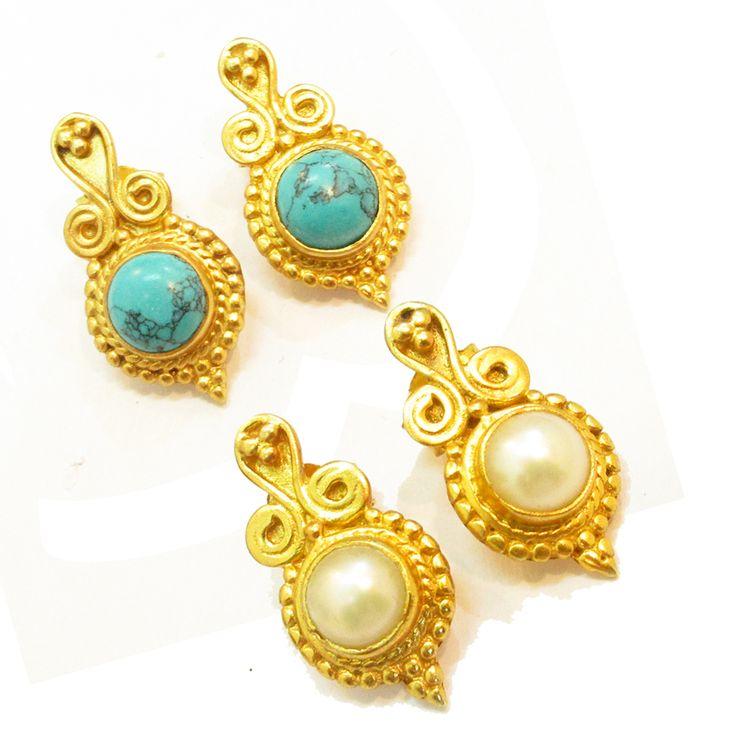 925#Sterling#Silver#China#Pearl#Turquoise#Gemstone#Stud#Earrings#Women#Women#Free#Shipping http://www.ebay.com/itm/925-Sterling-Silver-China-Pearl-Turquoise-Gems-Stud-Earring-Women-Free-Ship-/112515470990?ssPageName=STRK:MESE:IT