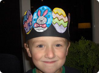 Get the kids to make their own hat for the Easter parade this year.