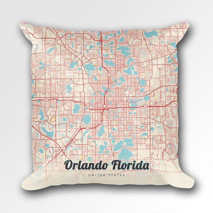 Best Orlando Map Ideas On Pinterest - Orlando florida on us map