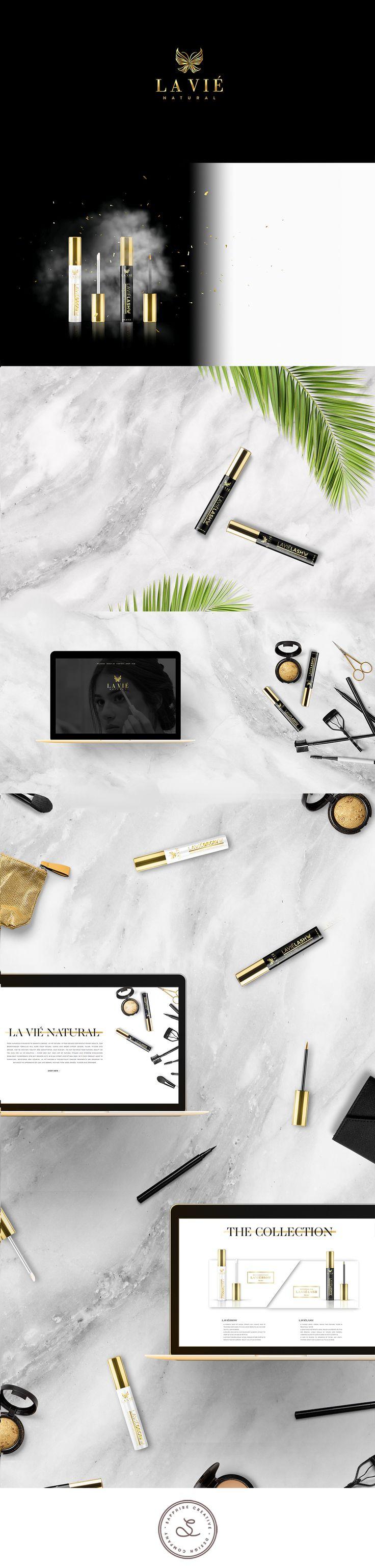 La Viè Natural Luxury Brand & Packaging Design by Yael Safirstein of Sapphire Creative Designs