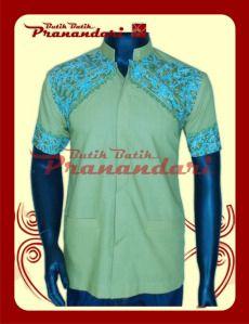 Koko Katun Ima Kombinasi Batik Bordir Halus Tasik