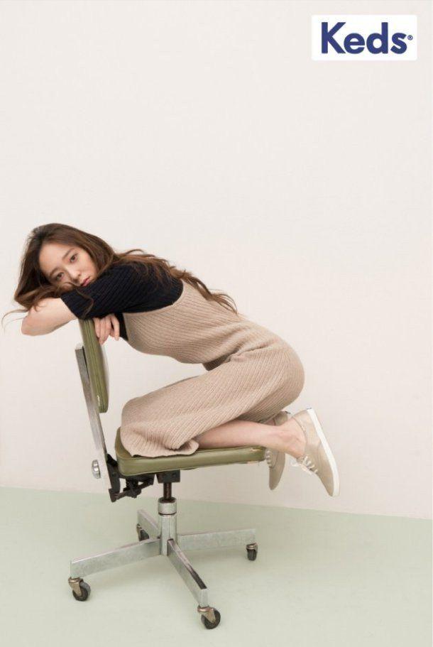 'Keds' release extra cuts of chic model Krystal   allkpop.com