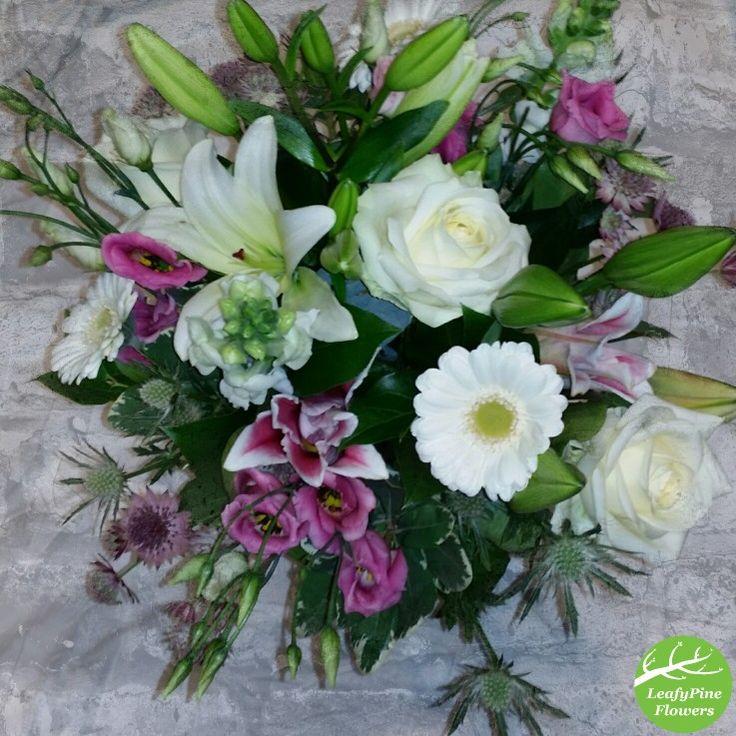 Pink & White Flower Bouquet