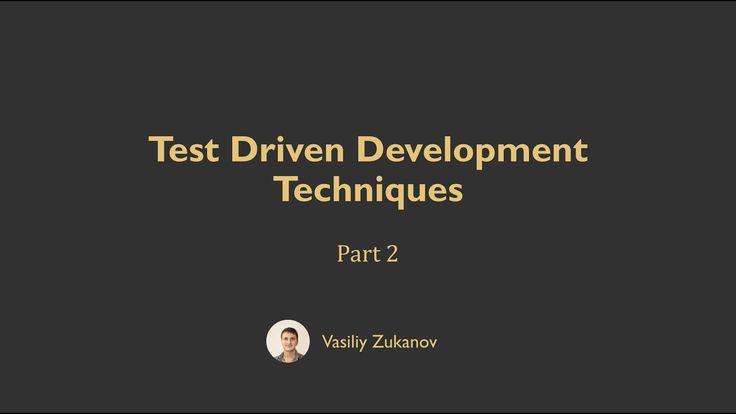 Test Driven Development Techniques - Part 2.1 - Uncle Bob's Technique