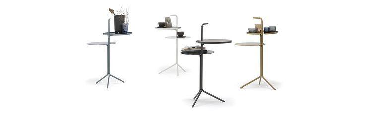 De #DesignOnStock OO-Two #bijzettafel is een fraai vormgegeven en tijdloos ontwerp. De tafel is zo gemaakt dat het onderste blad precies over de zitting van een bank heen past. #GilsingWonen #design #wooninspiratie