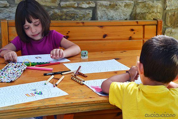 Come fare le lettere magnetiche semplici con bambini