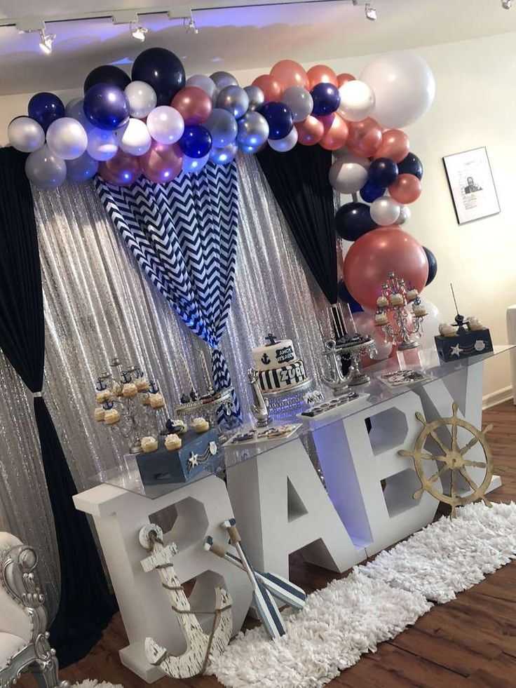 Nautical Baby Shower Baby Shower Party Ideas