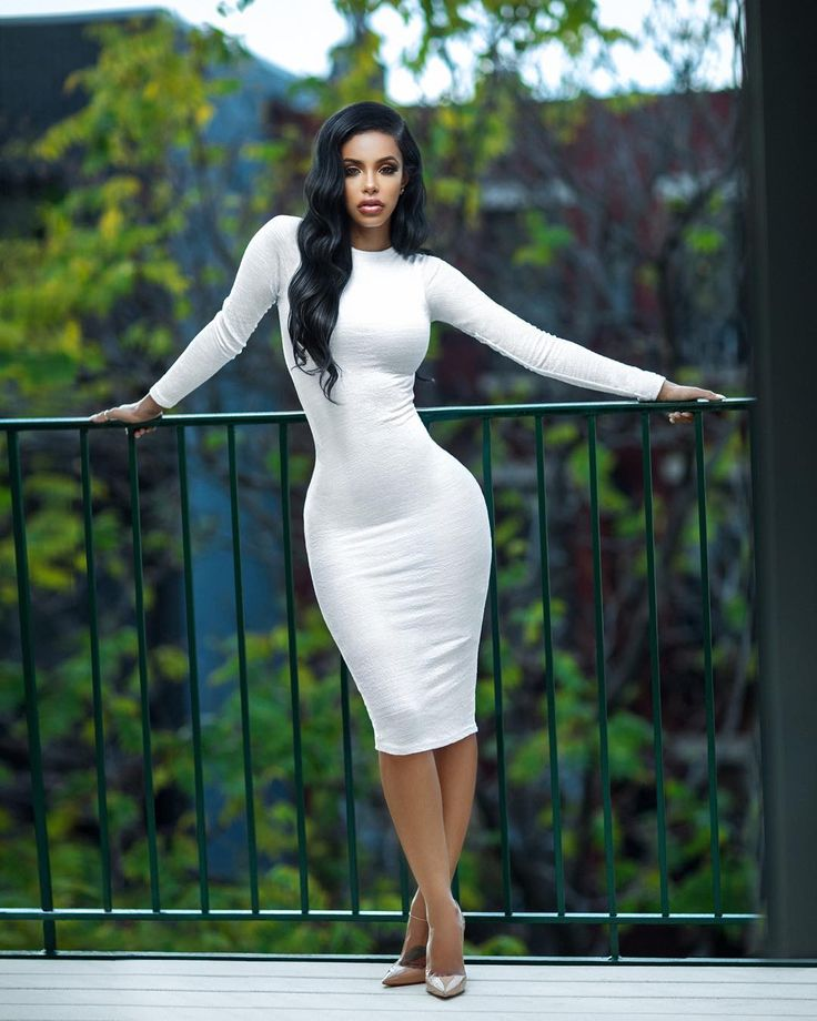 Ethiopian Fashion Nova Model