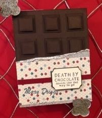 Death By Chocolate by cr8iveme - Cards and Paper Crafts at Splitcoaststampers