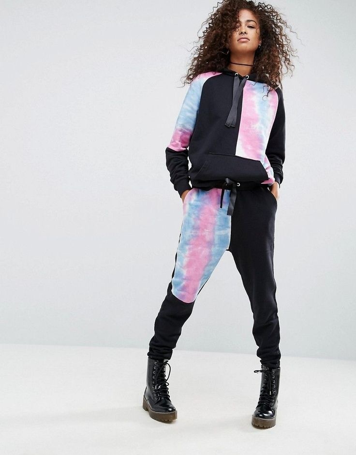 Buy it now. ASOS Jogger with Cut About Tie Dye Pannels Co-ord - Multi. Sweatpants by ASOS Collection, Soft-touch sweat, Drawstring waistband, Grosgrain ribbon ties, Side pockets, Fitted cuffs, Regular fit - true to size, Machine wash, 100% Cotton, Our model wears a UK 8/EU 36/US 4 and is 178cm/5'10 tall. Score a wardrobe win no matter the dress code with our ASOS Collection own-label collection. From polished prom to the after party, our London-based design team scour the globe to nail your…