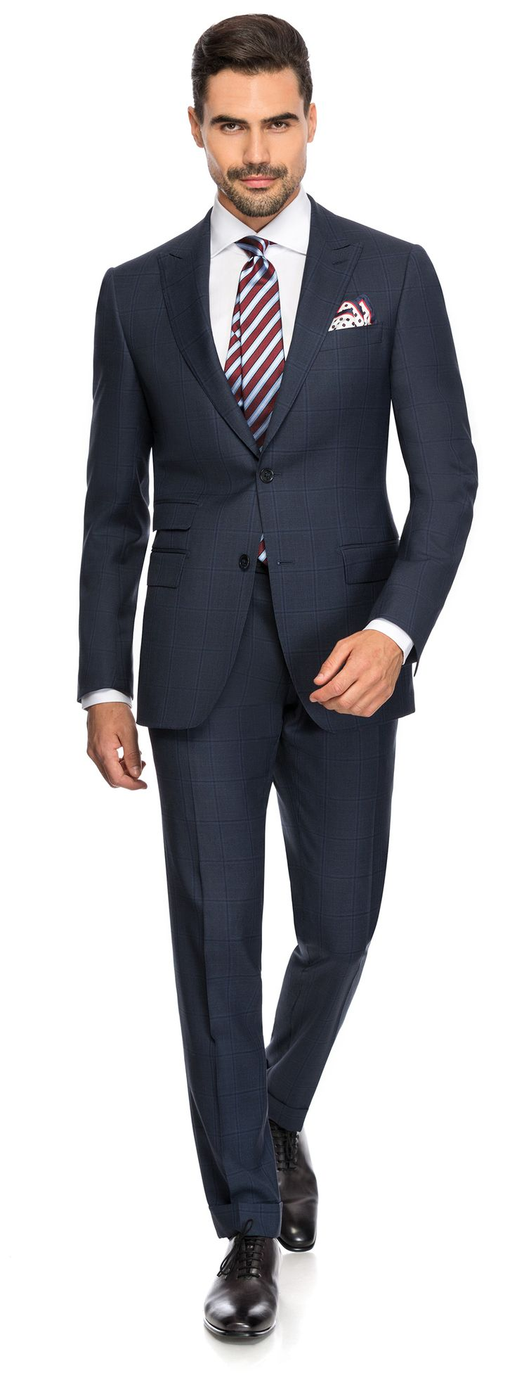 OVER CHECK SUIT