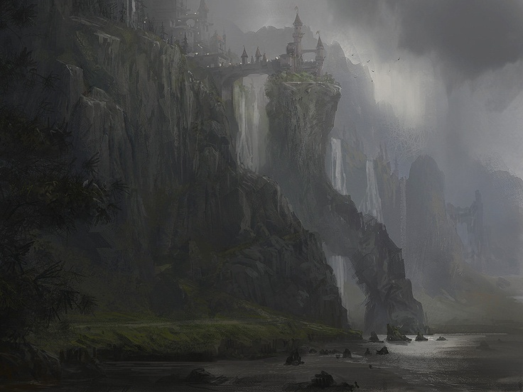 Castle of Aream by Jan Ditlev Christensen