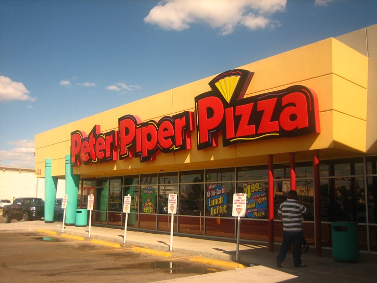 Peter Piper Pizza- went here almost every weekend with my Grandma and brothers!