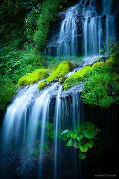 Doryu Falls, Yamanashi, Japan