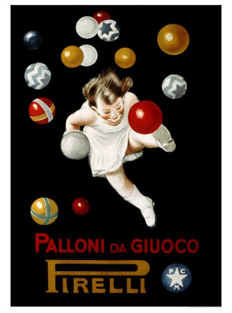 Leonetto Cappiello, Pirelli Palloni da Giuoco
