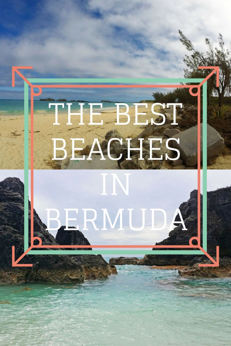 The best beaches in Bermuda - these are the stunning pink sands and turquoise waters that you've been searching for! Read our top recommendations: http://justinpluslauren.com/best-beaches-in-bermuda/