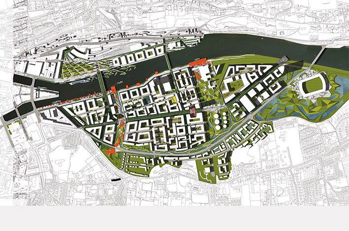 Martha Schwartz Partners - Projects - Masterplans - Cork