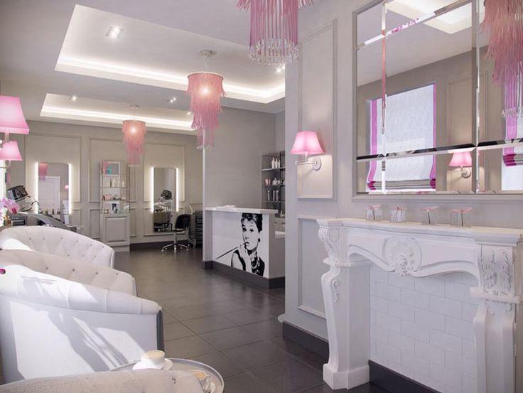 beauty salon decoration ideas interior design home. Black Bedroom Furniture Sets. Home Design Ideas