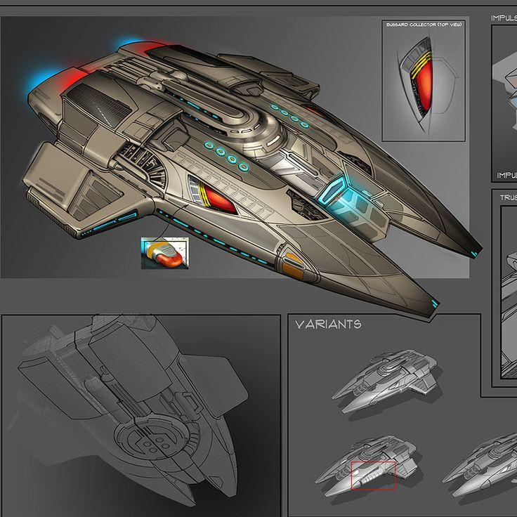 Pilot ship for Star Trek Online.